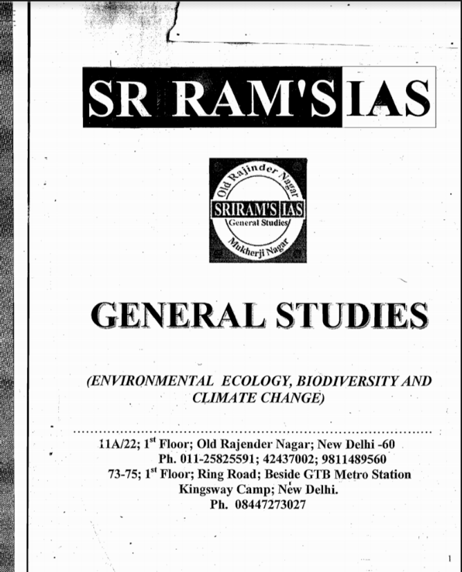 Real Photos – All Of The Pmf Ias Notes Pdf Free Download