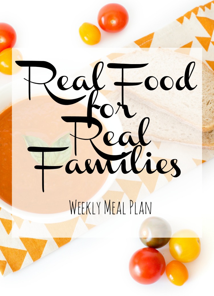 Weekly Family Meal Plan 2017 Week 39