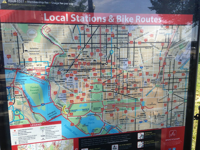 Capital Bikeshare Route