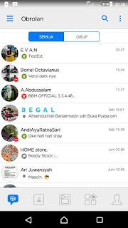 BBM MOD White Screenshot