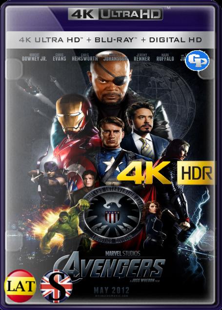 Los Vengadores (2012) 4K HDR LATINO/INGLES