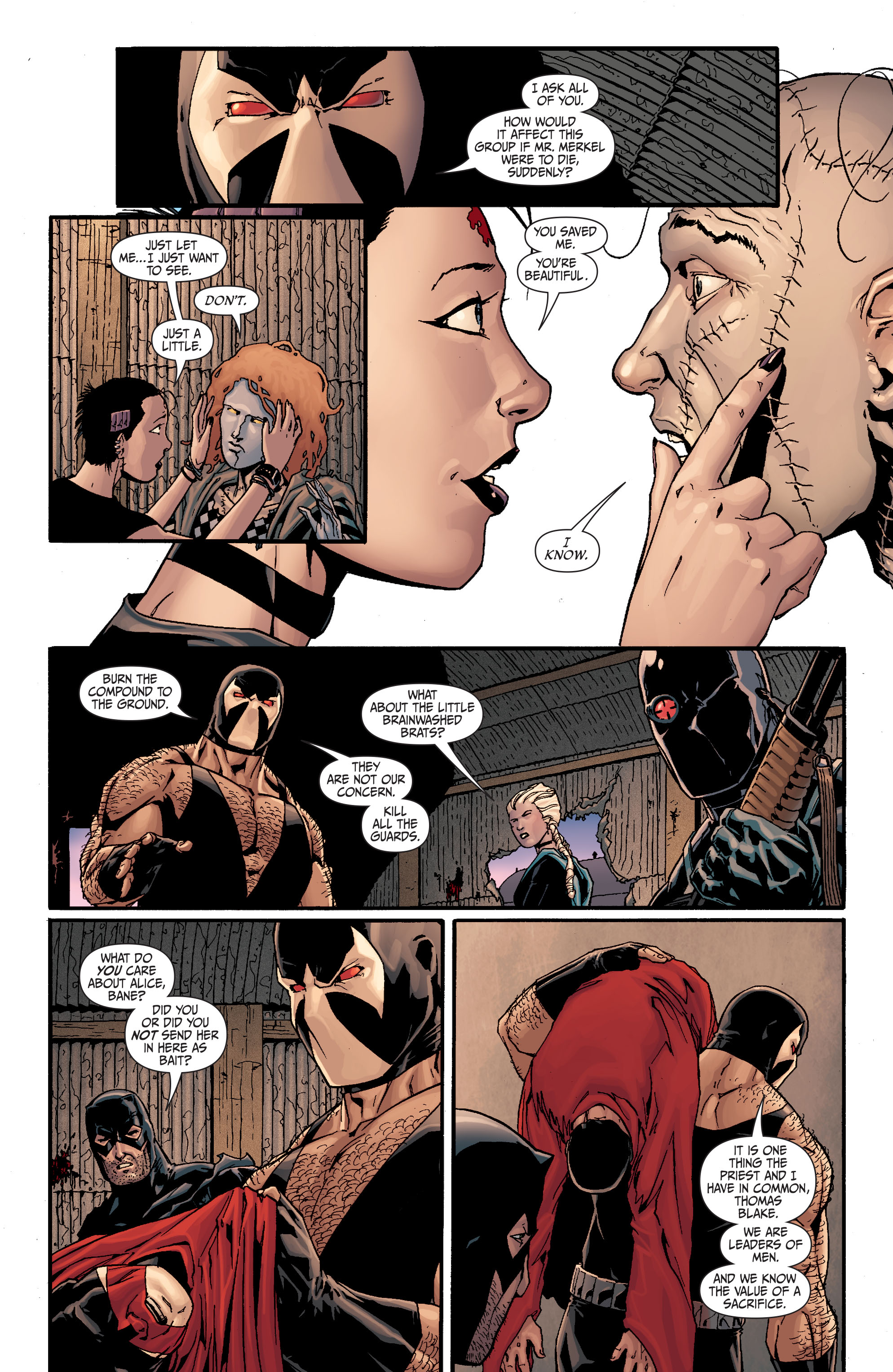 Read online Secret Six (2008) comic -  Issue #19 - 12