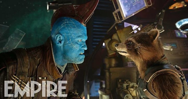 Yondu y Rocket en Guardians of the Galaxy Vol 2