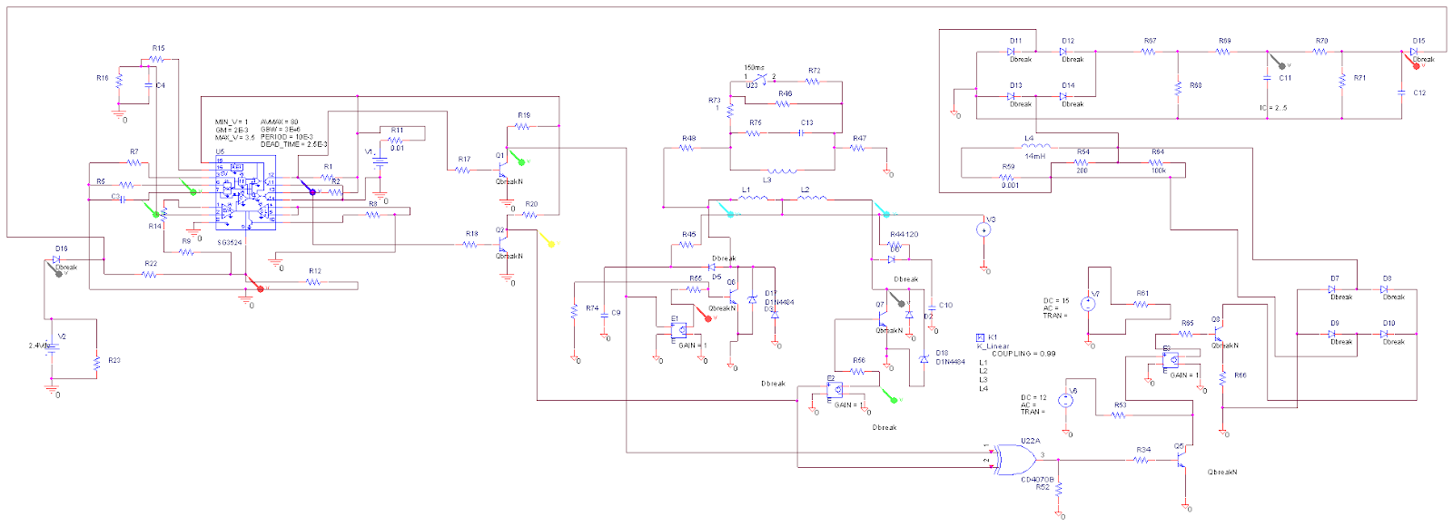 medium resolution of simple pwm inverter circuit sg3524 pwm