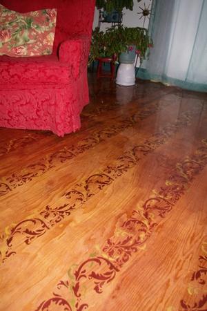 My Galician Garden Plywood Flooring