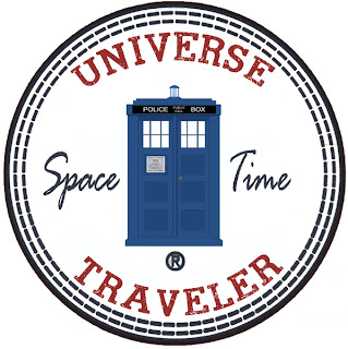 Space Traveler Doctor Who patch