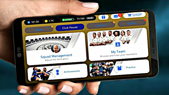 PES 2019 Mobile Android New Menu Patch Latest Version (Android/IOS)