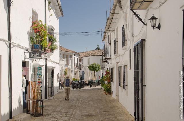 Pueblos blancos Grazalema Andalucia