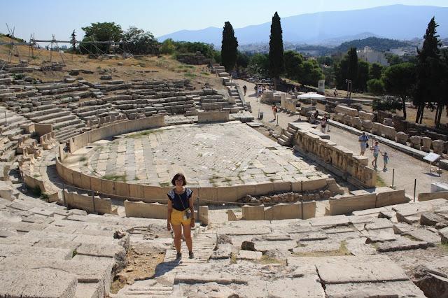 athens acropolis theatre dionysos