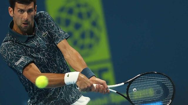 Djokovic wins 2019 match in 55 minutes.