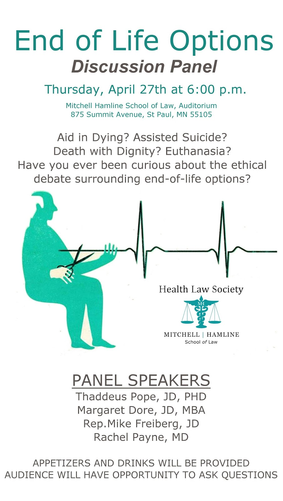 Minnesota End of Life Options Discussion Panel | Bioethics.net