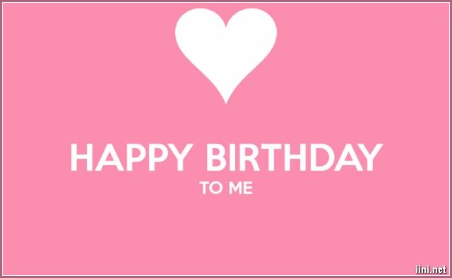 lời tự chúc mừng sinh nhật ý nghĩa