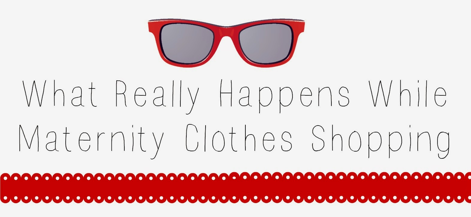 What Really Happens While Maternity Clothes Shopping