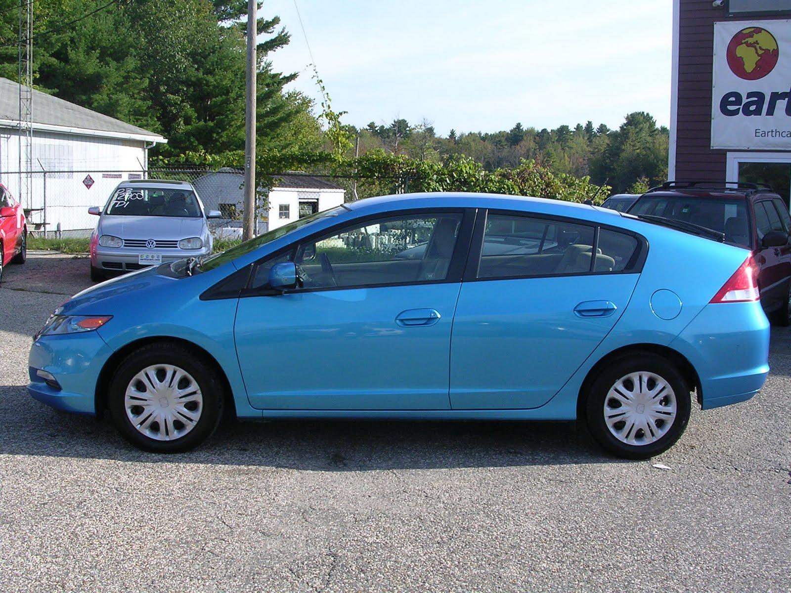Earthy Cars Blog: EARTHY CAR OF THE WEEK: 2010 Blue Honda ...
