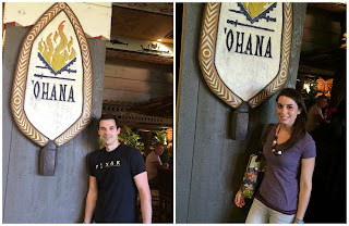polynesian resort disney ohana dinner