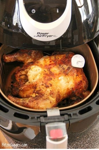 Air Fryer Roast Chicken