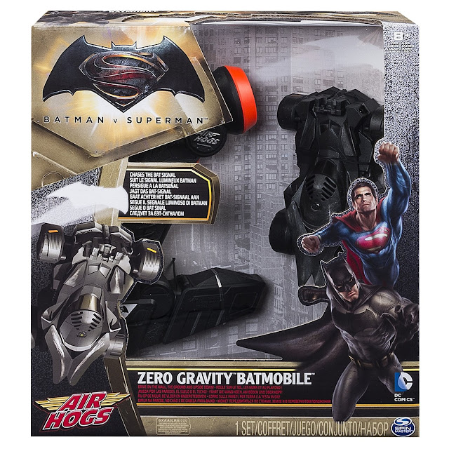 Air Hogs Zero Gravity Batmobile in packaging