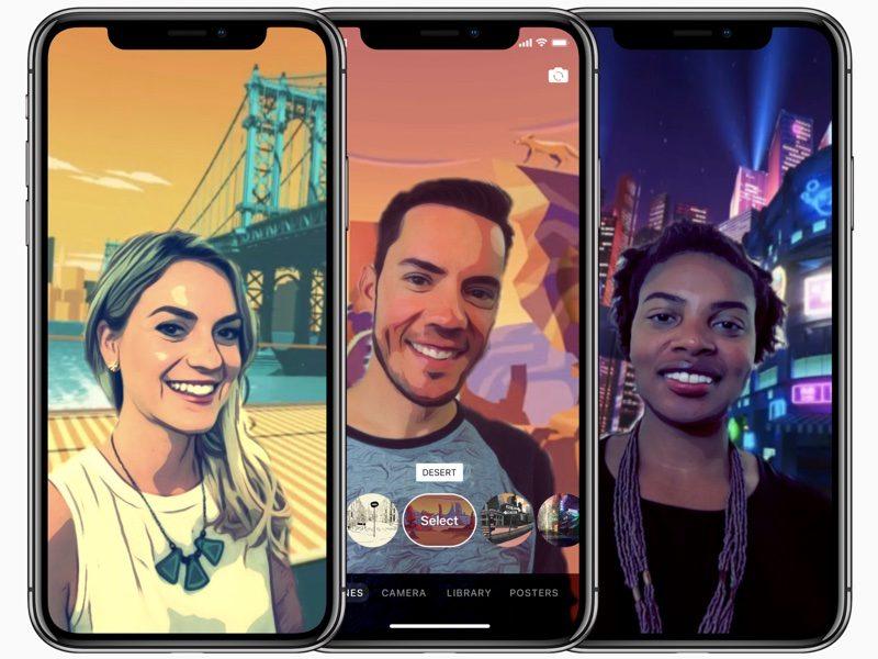 Fotocamera iphone x modalità True Depth