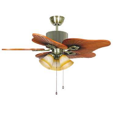 Quạt trần đèn cánh gỗ - Sản phẩm mới phục vụ gia đình bạn những ngày hè