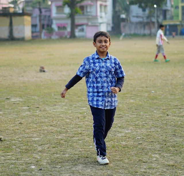 Nephew Rick Playing Cricket 10