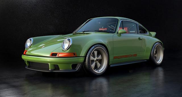 Porsche and Singer Vehicles Collaborate to make Porsche 964 DLS