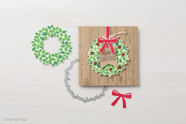 Wondrous Wreath Stampin' Up!