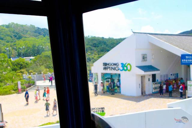 Ngong Ping Village and Cable Car