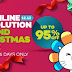 Lazada's Grand Christmas Sale, up to 95% Off: December 7-12