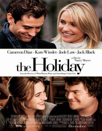 Poster Of Free Download The Holiday 2006 300MB Full Movie Hindi Dubbed 720P Bluray HD HEVC Small Size Pc Movie Only At worldfree4u.com