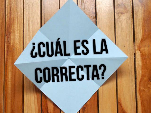 Si no pasas este examen de ortografía deberías regresar a la primaria