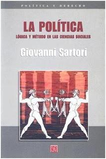 La política: lógica y método en las ciencias sociales / Giovanni Sartori