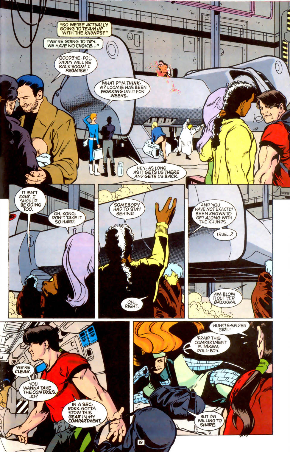 Legion of Super-Heroes (1989) 44 Page 19