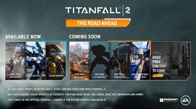 התוכן העתידי של Titanfall 2 כולל מפות חדשות, טיטאן חדש ועוד