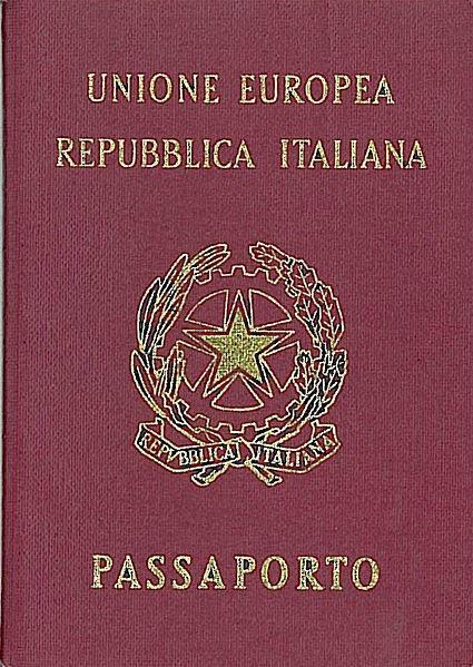Thailandia Blu Passaporto