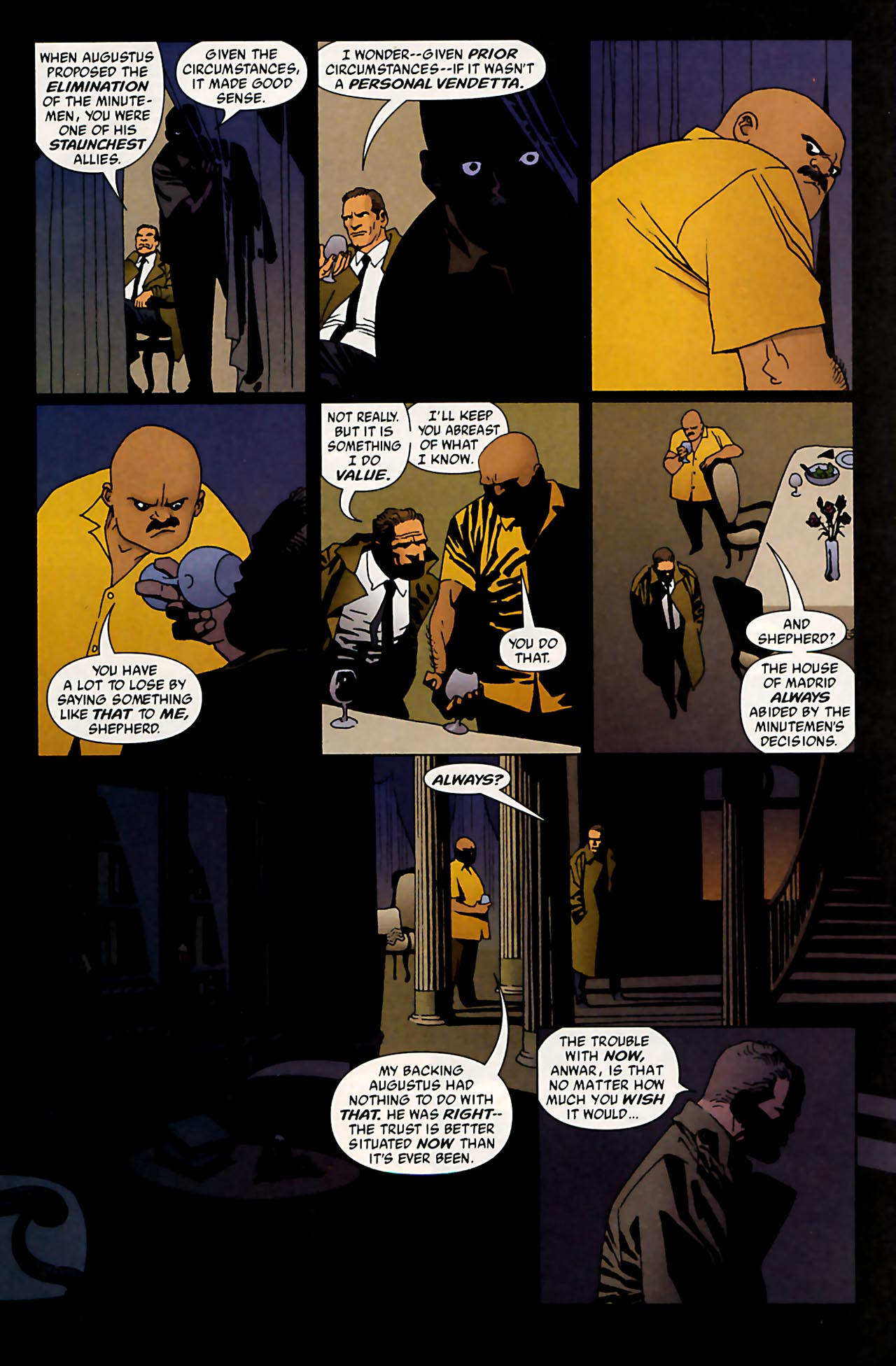 Read online 100 Bullets comic -  Issue #53 - 4