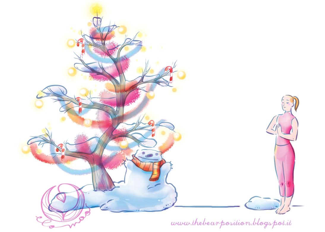 Auguri Di Natale Yoga.Centro Integral Yoga Deva Buon Natale E Felice Anno Nuovo