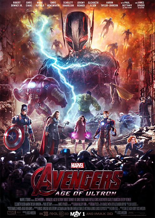 Poster The Avengers 2: Age Of Ultron