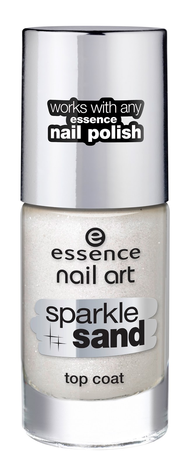 essence new in town – nail art sparkle sand top coat