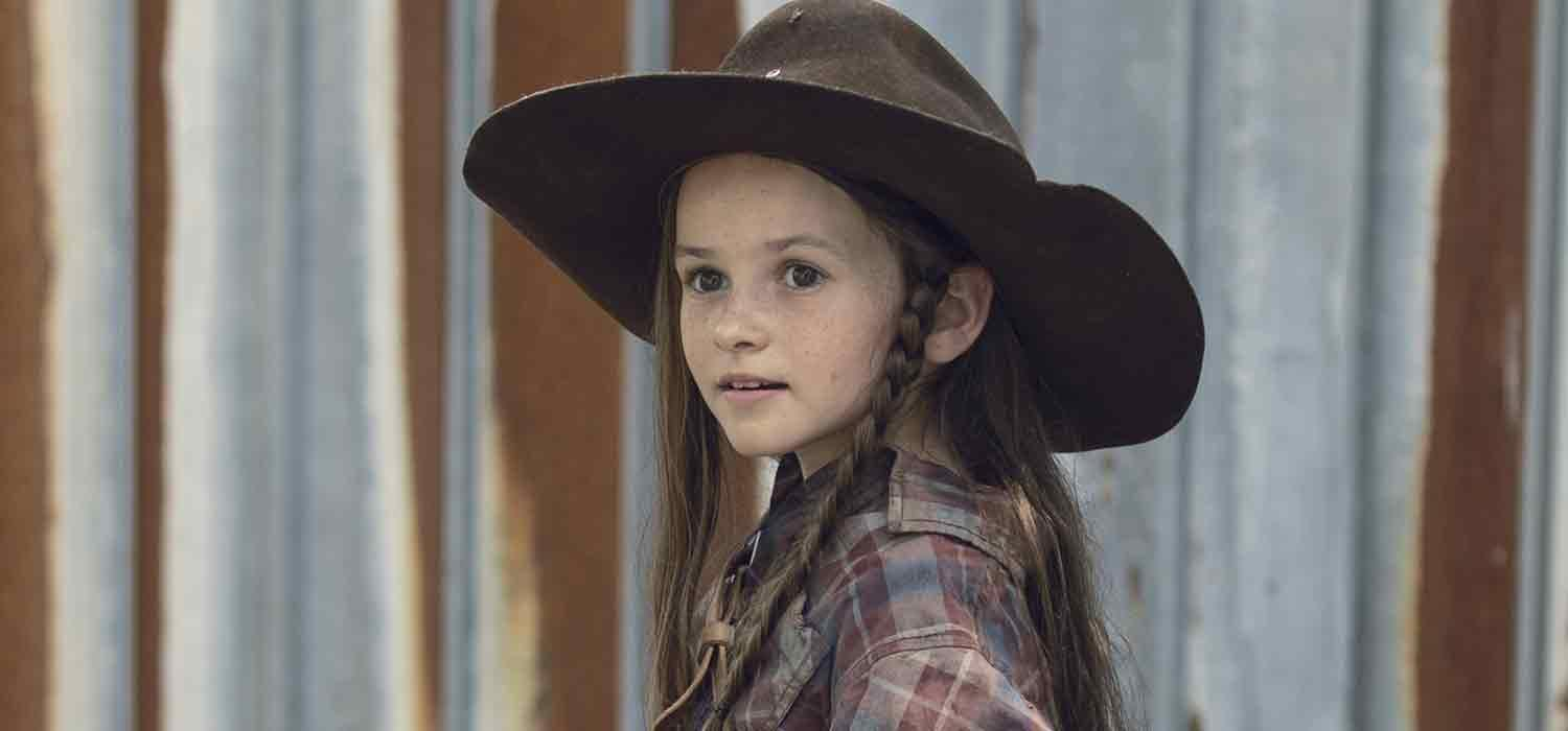 Judith, en el episodio 9x06 Who Are You Now? de The Walking Dead