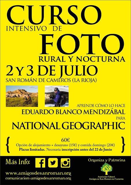 - 2 y 3 de Julio - - SAN ROMÁN DE CAMEROS - - CURSO DE FOTOGRAFÍA -