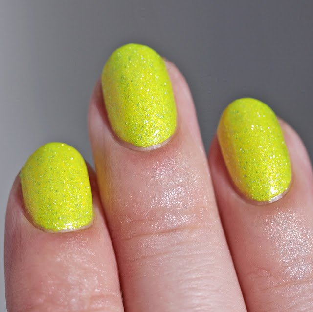 Night Owl Lacquer Crystallized Pineapple