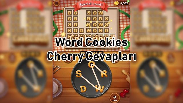 Word Cookies Cherry Cevaplari