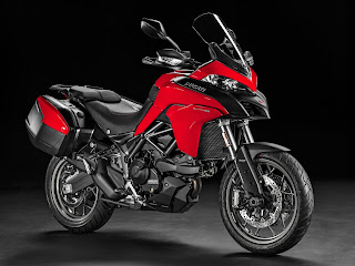 Multistrada 950 rojo touring pack
