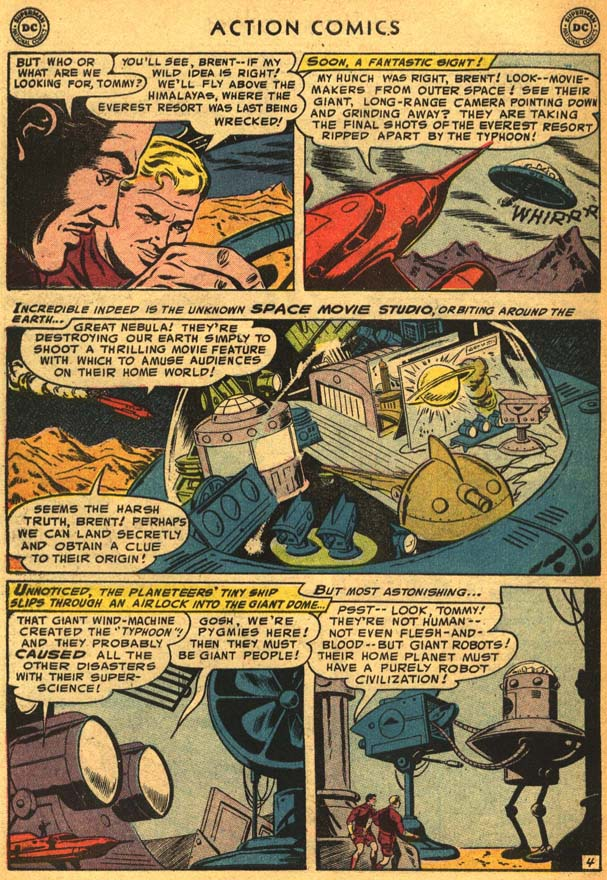 Read online Action Comics (1938) comic -  Issue #210 - 32