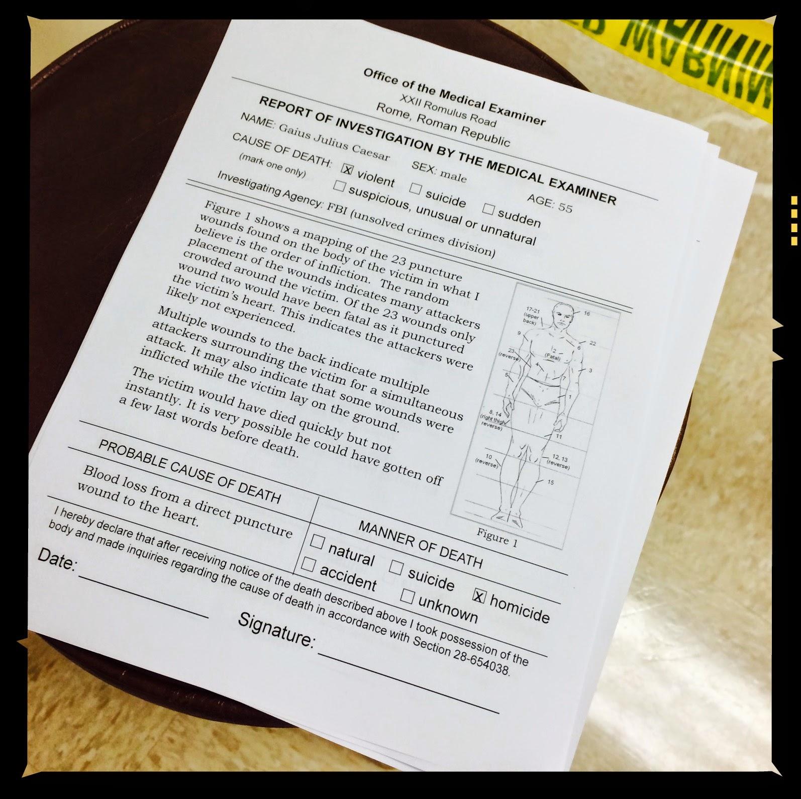 Ms B S Got Class Cold Case Files Caesar Edition