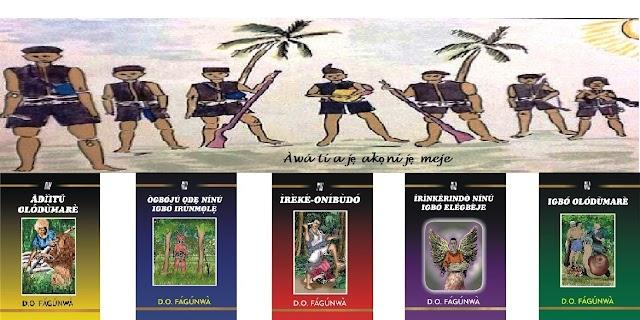 OGBOJU ODE NINU IGBO IRUNMALE AND OTHER BOOKS By D. O. Fagunwa