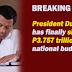 Pres. Duterte has Finally Signed the 2019 National Budget