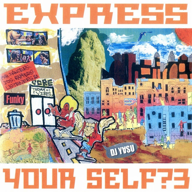 MIX CD Express Yourself? Vol.3 mixed by DJ-Y∀SU
