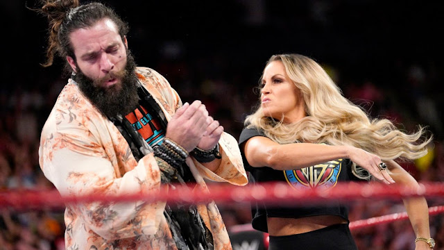 Trish Stratus confronted Elias