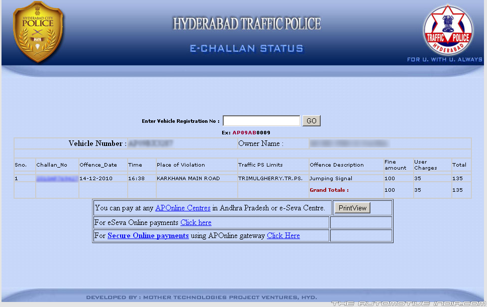How Pay Vehicle Registration Online